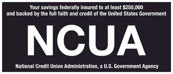 NCUA - National Credit Union Administration, a U.S. Government Agency