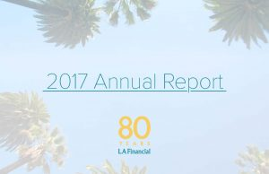 2017 Annual Report cover photo - link to LAFFCU's Annual Report