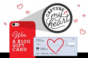 Win $100 gift card with capture my heart promotion