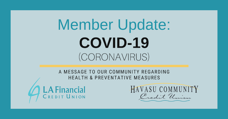 member update: COVID-19 graphic