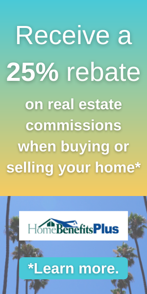 Home Benefits Plus - 25% rebate on real estate commissions