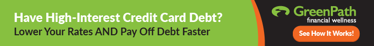 Have High-Interest Credit Card Debt? Lower Your Rates AND Pay Off Debt Faster. GreenPath Financial Wellness. Button: See How It Works!