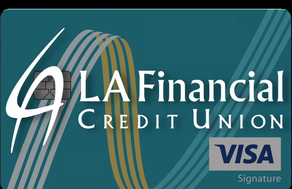 LA Financial Credit Union Credit Card Brand