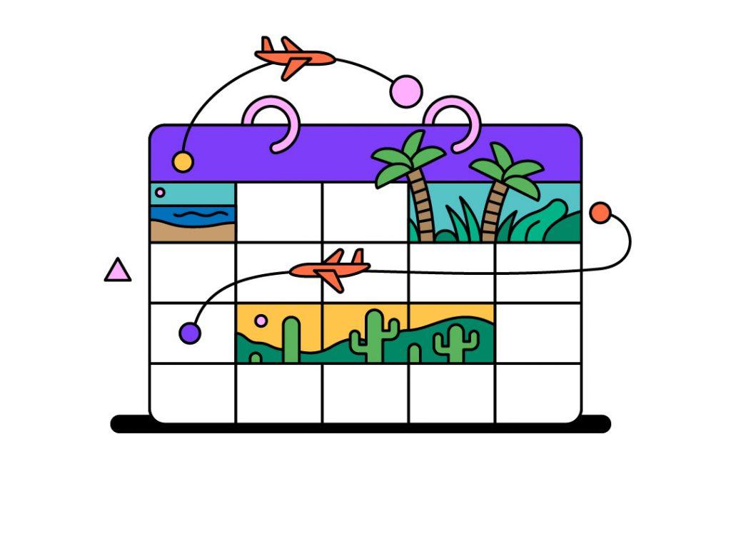 illustration - calendar