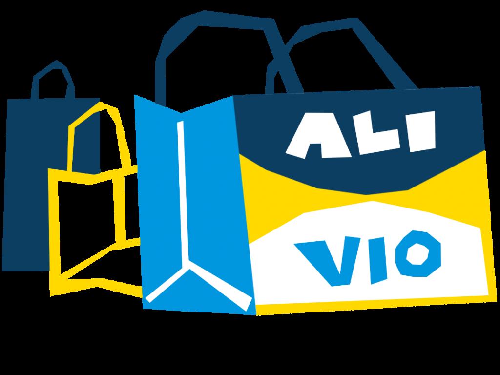 illustration shopping bags